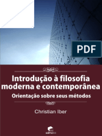 Christian Iber - Introdução à filosofia moderna e contemporânea.pdf