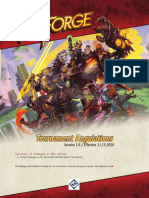 Keyforge Tournament Regulations
