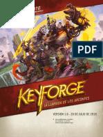 Keyforge Reglas Referencia Rápida