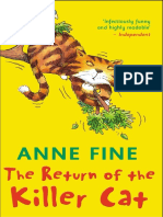 Anne Fine - Killer Cat 02 - The Return of the Killer Cat