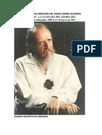 Enseñanzas Del Maestro Dr. David Ferriz Olivares