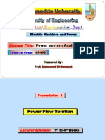 Pre1_AlexUniv_PowerFlowSolution