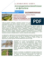 Microorga. en Agricultura