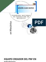 Presentación de PNF en Mecánica