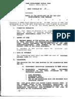 Cir 89 - Amendments to the Guidelines on the Pag-IBIG Developmental Loan Program