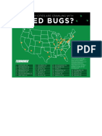 Which cities are crawling with bed bugs?