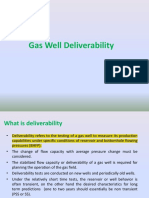 Gas Well Deliverability Test
