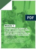 Monitoreo y comunicacion de evaluacion de impacto