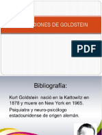 Aportaciones de Goldstein