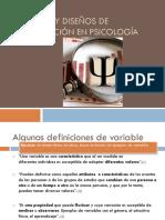Métodos y Diseños de Investigación en Psicología.