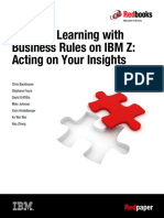 REDP-5502-00 DB2 - Machine Learning With Business Rules on IBM Z - Acting on Your Insights V00.1