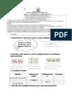 GUÍA EJERCICIOS DE MULTIPLICACION Y DIVISION3°B