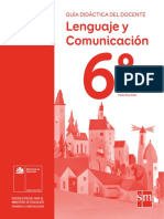 Lenguaje y Comunicación 6º Básico-Guía Didáctica Del Docente Tomo 1