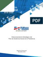 Plan Estrategico 2016 2020