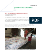 15-16th November,2018 Daily Global Regional Local Rice E-Newsletter