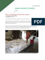 15-16th November,2018 Daily Global Regional Local Rice E-Newsletter