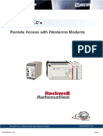 Westermo an Rockwell Remote Access