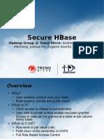 Secure HBase