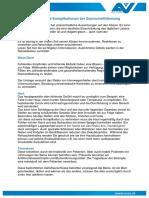 Informationsblatt Komplikationen QSL