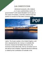 Australia Constitution