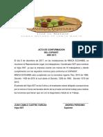 D-04 Acta de Conformacion