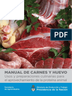 Manual de Carnes y Huevo.