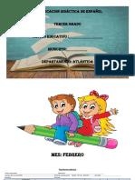 Planificacion de Español  Tercer Grado.docx