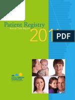 2011+US+CFF+Patient+Registry+Report