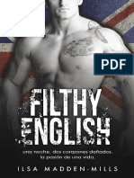 2. Filthy English - Ilsa Madden-Mills