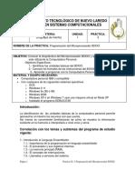 Programa No. 3 Introduccion a la programacion con ensamblador