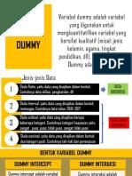 Limitax Variabel Dummy
