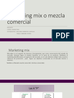 Marketing Mix o Mezcla Comercial