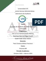 Contrato de Auditoría - ADM