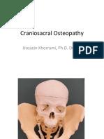 Craniosacral Osteopathy
