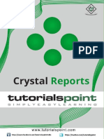 Crystal Reports Tutorial