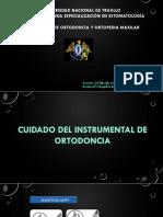 Cuidado del instrumental en Ortodoncia