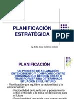 Unidad III - Planificación Estratégica y Operativa