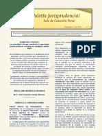 Boletin Jurisprudencial 2018-11-15