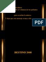 DESTINO2008 M