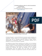 Perspectiva Étnica Afrodescendiente Sobre La Crisis Humanitaria en Venezuela