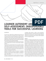 Learner Autonomy and Self-Assessment - New Routes Magazine #42