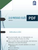 2.6 Riesgo Eléctrico