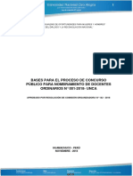 Bases Del Concurso Docente Unca Con Correcciones 06-11-2018