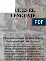 Que es el Lenguaje