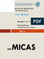 LAS MICAS - YAc No Metalicos