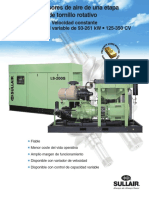 Compresor Sullair VCC 200S