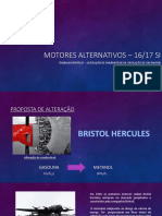 Trabalho Motores 20 Slides BRISTOL HERCULES
