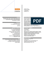 Internship Resume Sample 2