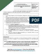Requisitos Traspaso de Visa