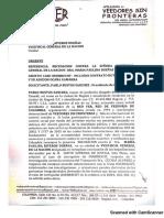 Recusan a Vicefiscal María Paulina Riveros Por Caso Odebrecht